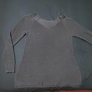 American Eagle size XXL black sweater